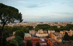 Вид на город Рима Стоковая Фотография RF