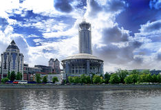 Вид на город стоковые фотографии rf