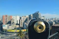 Вид на город стоковая фотография