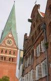 Вид на город Lueneburg-II-Германии Стоковое Фото