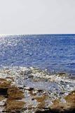Вид на море в лете Стоковая Фотография