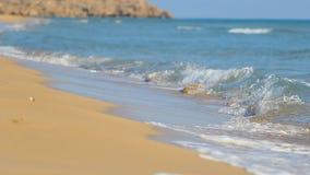 Вид на море в slowmoton сток-видео
