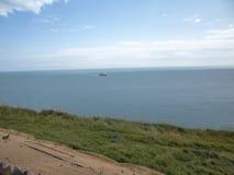 Вид на море Дувра Стоковые Изображения RF