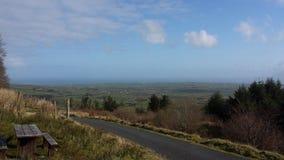 Вид на море Ирландии Стоковые Фото