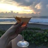 Вид на море коктеиля Стоковые Изображения