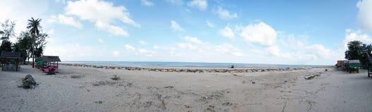 Вид на море на к югу от Таиланде Стоковые Изображения