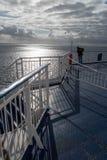 Вид на море от парома Стоковые Фотографии RF