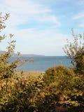 Вид на море Чёрное море ландшафта Стоковые Изображения RF