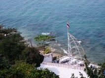 Вид на море Caffe Стоковая Фотография