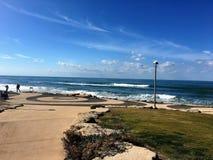 Вид на море /Israel Стоковая Фотография