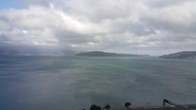 Вид на море moterway Веллингтон Стоковая Фотография