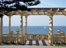 Вид на море Passeio Alegre, Oporto Стоковое Изображение