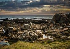 Вид на море Port Elizabeth Стоковые Фотографии RF