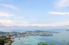 Вид на море Samae san Стоковые Фотографии RF