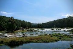 Вид на озеро реки Стоковое Фото
