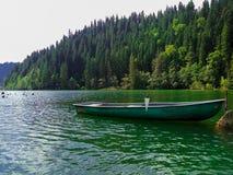 Вид на озеро Стоковые Фотографии RF