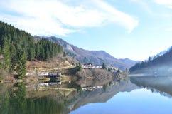 Вид на озеро Beautuiful Стоковое Изображение RF