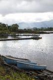 Вид на озеро Kawakuchiko Стоковое Изображение RF