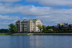 Вид на озеро Verkhneye Стоковое Фото