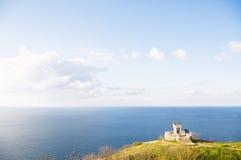 Вид на океане и горах Стоковое Фото