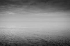 Вид на океан в зиме Стоковые Фотографии RF