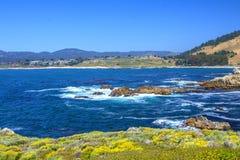 Вид на океан, 17 миль привода Стоковая Фотография
