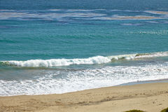 Вид на океан от скалы Стоковое Фото
