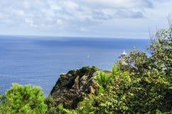 Вид на океан Стоковое фото RF