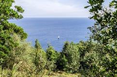Вид на океан Стоковое Изображение