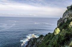 Вид на океан Стоковые Изображения
