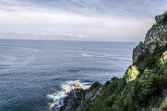 Вид на океан Стоковое Изображение RF