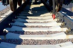 Вид сзади фуры угля Стоковые Фото