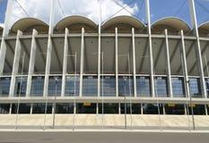 Вид спереди 1 футбольного стадиона Стоковое Изображение RF