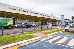 Вид спереди Aeroporto Internacional de Campo Большой Стоковые Изображения