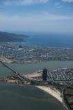 Вид с воздуха  àNẵng Ä Стоковое Фото