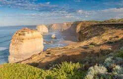 Вид с воздуха 12 апостолов, Виктории - Австралии Стоковые Изображения