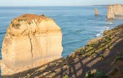 Вид с воздуха 12 апостолов, Виктории - Австралии Стоковая Фотография RF