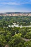 Вид с воздуха Бухареста Стоковое Изображение RF