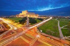Вид с воздуха Бухареста Стоковая Фотография