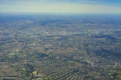 Вид с воздуха Великобритании Стоковые Фотографии RF
