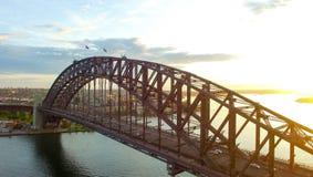Вид с воздуха горизонта Сиднея, Нового Уэльса, Австралии Стоковое Изображение