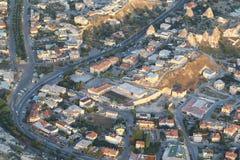 Вид с воздуха города индюка стоковые изображения rf