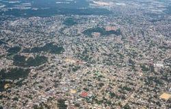 Вид с воздуха города Манаус, Бразилии Стоковое фото RF