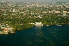 Вид с воздуха города Стоковые Фотографии RF