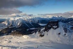 Вид с воздуха горы таблицы стоковая фотография