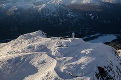 Вид с воздуха горы Whistler стоковые фото
