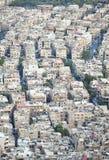 Вид с воздуха Дамаска, Сирии Стоковое Изображение RF