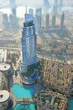 Вид с воздуха Дубай Стоковое фото RF