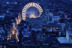 Вид с воздуха Лилля Стоковое Изображение