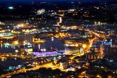 Вид с воздуха Маврикия Порт Луи стоковые изображения rf